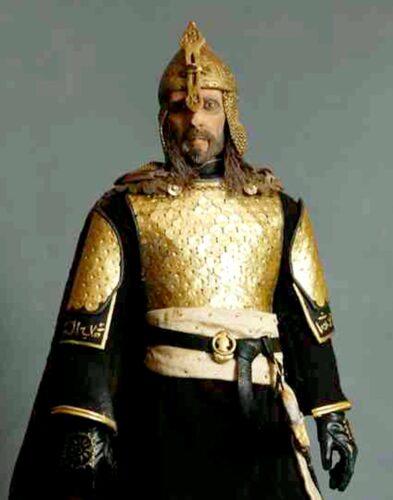 Saladin 'Kingdom of Heaven' replica figure (2008) by Kowalski in Barcelona