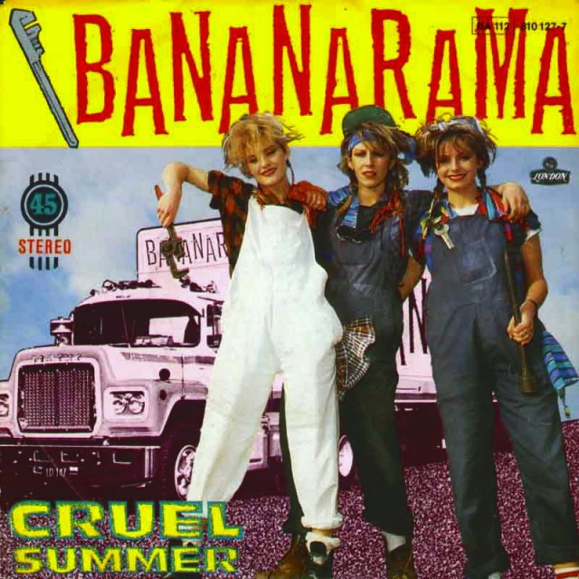 """Cruel Summer,"" another huge Bananarama hit"