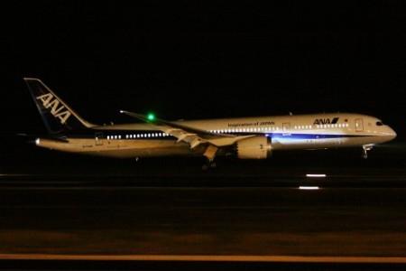 Onder het toeziend oog van ongeveer 250 vliegtuigspotters landde de nieuwe Boeing na zo'n zes uur vliegen op Curaçaos grondgebied. FOTO'S LARRY EVERY