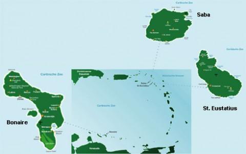 Caribisch Nederland: Bonaire Saba en Eustatius