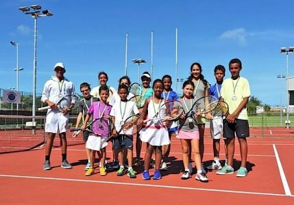 1e Toernooi jeugdranking tennis gespeeld