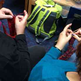 knitters in the hub