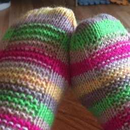 Cheery Rye socks