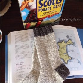 TillyTrout's socks (instagram)