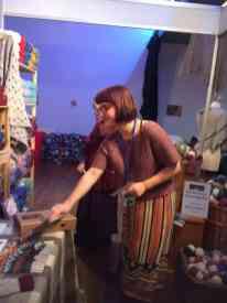 Sonja, from Blacker Yarns