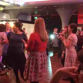 dancing at the ceilidh