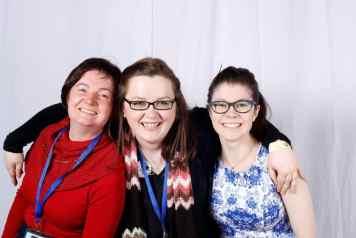 Louise Hunt, Amanda Collins and I