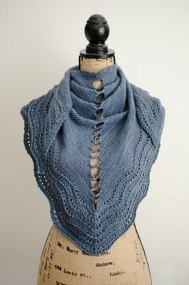 Stepping Stones shawl - Image: Katya Frankel