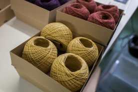 The new alpaca silk yarn