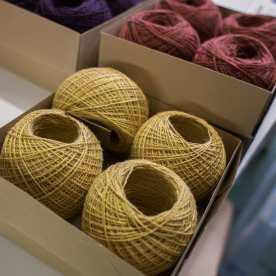 The new alpaca silk yarn