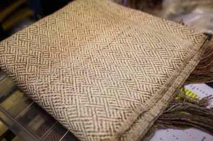 alpaca and silk cloth
