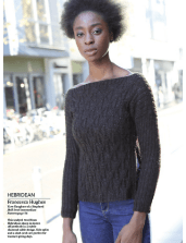 Hebridean Sweater. Image © Knitting Magazine