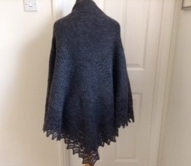 all use yarn from Holly Hock Flock