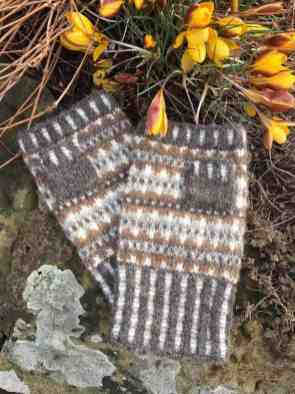British Breeds Mitts Kit from Fine Fettle Fibres