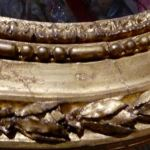 Gilt frame detail - idea for a decorative neckline?