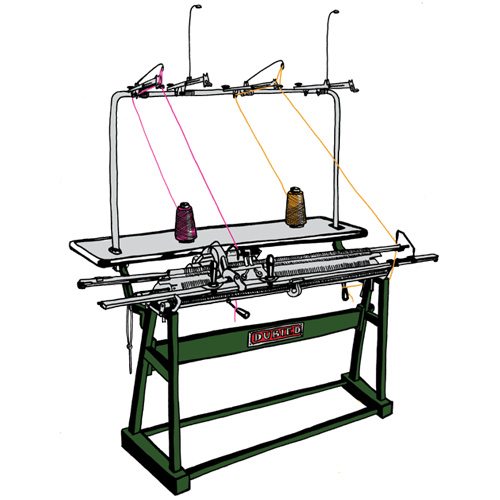 Industrial Machine Knitting Class machine hire