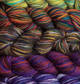 Imagination Hand Painted Sock Yarn