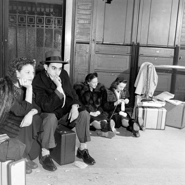 12 26 13 NYC Subway Shut Down  Blizzard of 1947