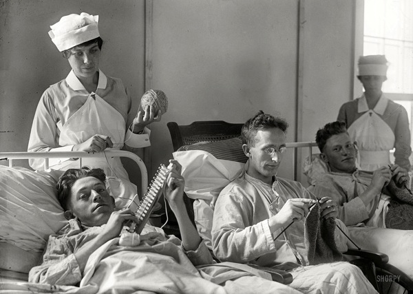 12 26 13 Soldiers at Walter Reed 1918