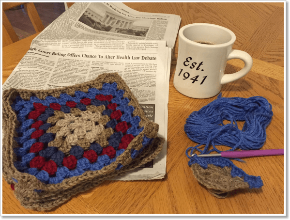 Breakfast Crochet