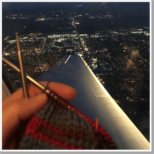 Plane knitting 2