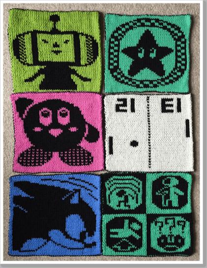 6 squares