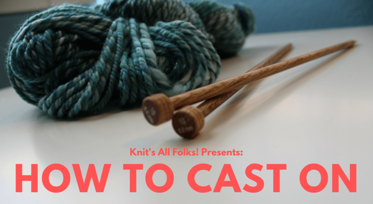 beginner knitter cable cast on