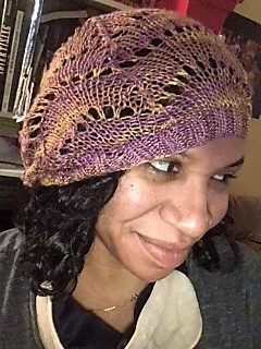 knitting-for-natural-hair-scalloped-knit-hat