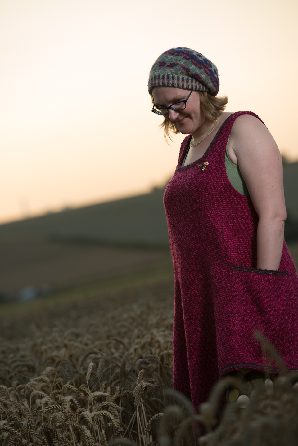 My signature woollen tabard created and designed by Tall Yarns'n Tales in 100% WOOL
