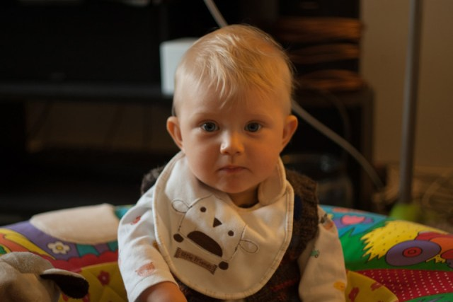 One of my two beautiful nephews - Barnaby!
