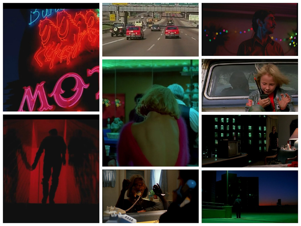 The colours of Paris, Texas