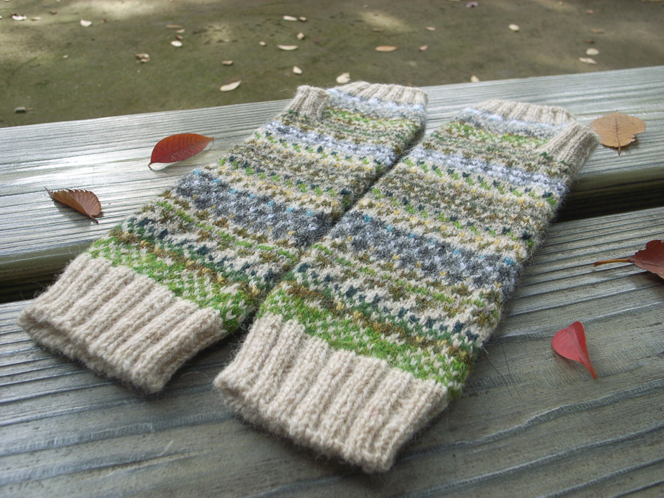 Silchester mitts designed by Yumi