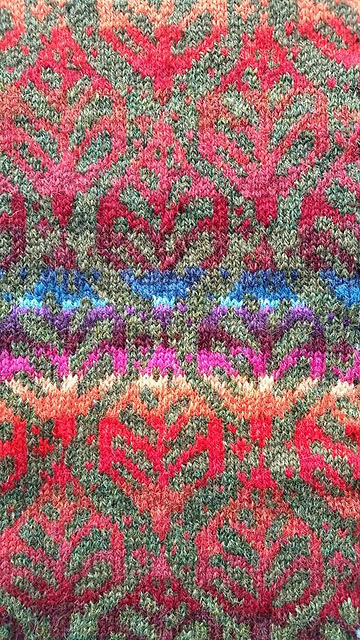 ...Translated into stranded colourwork