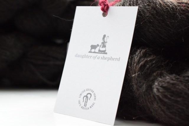 Daughter of a Shepherd - a new yarn from Rachel Atkinson