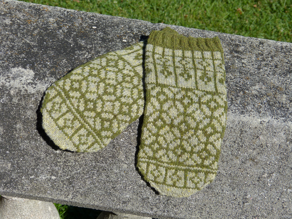 Abney Park mittens from the book