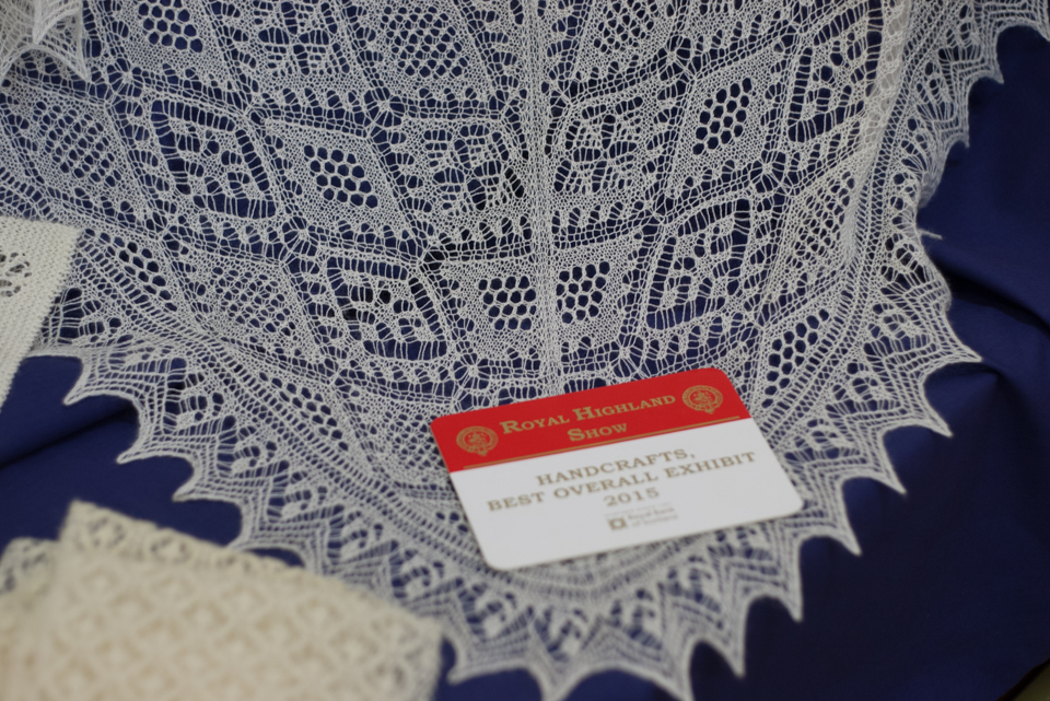 Kathleen Anderson's amazing lace