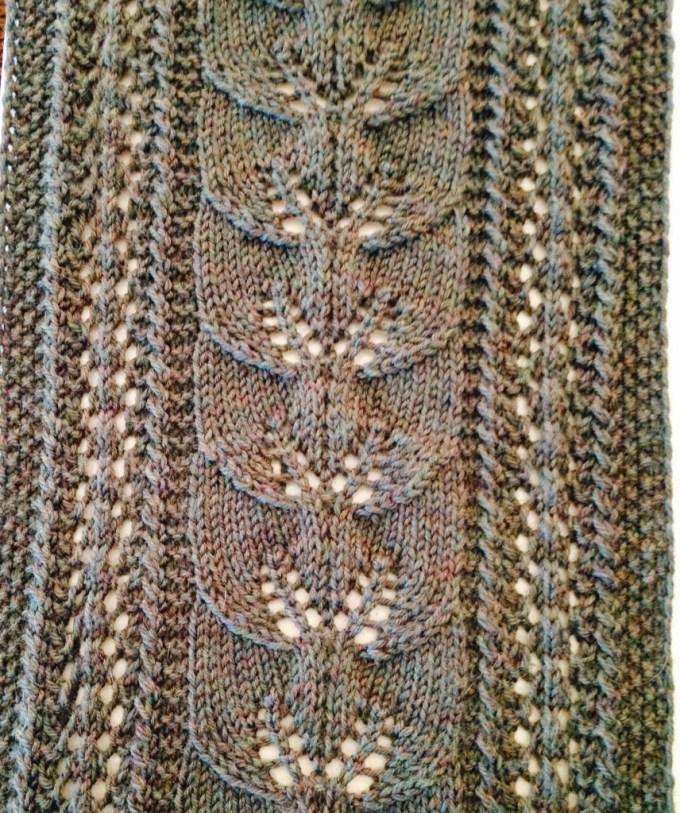 Leaf Knitting Pattern Zoshwiki