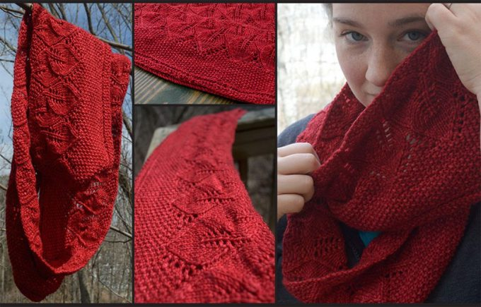 Leaf Scarf Knitting Pattern Free Zoshwiki