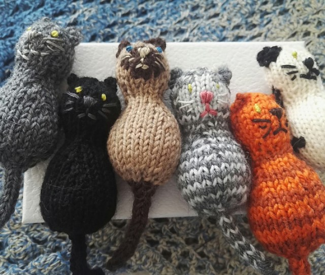 Free Knitting Pattern For A Year Of The Cat Toy