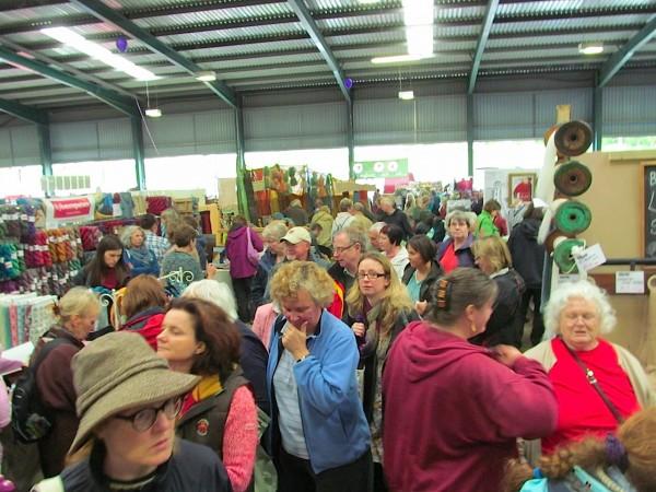 Crowds flock to Woolfest 2012