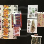 A fantastic selection of weaving and fabric printing