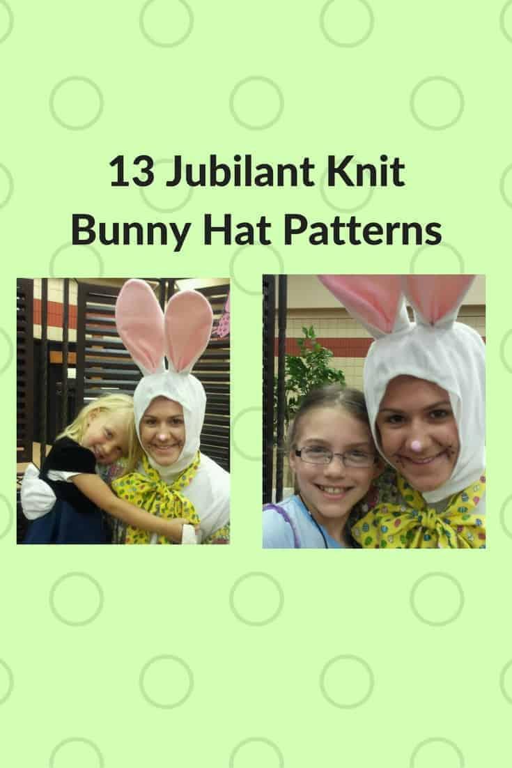Make a Hopping Good Time: 13 Jubilant Knit Bunny Hats