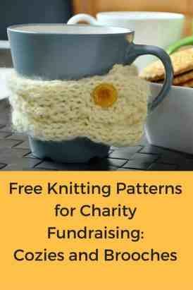 Free Knitting Patterns for Charity Fundraising_ Cozies and Brooches