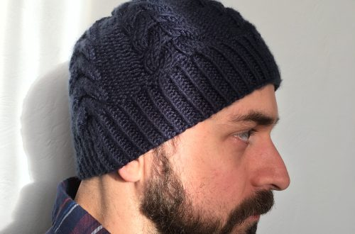 Woven Hat Knitting Pattern Knitting In The Park