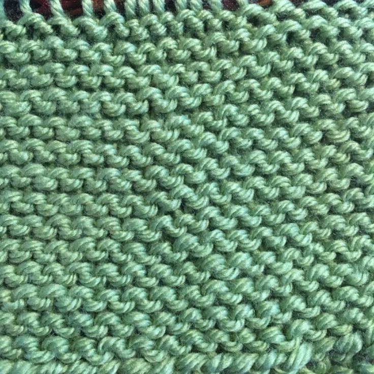 Knit And Garter Stitch Knitting In The Park
