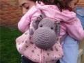 Hippo Backpack crochet pattern (4)