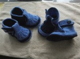 Collection of hooked baby shoes diagram (47)