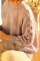 Hand Knitting Women's Sweaters (40)