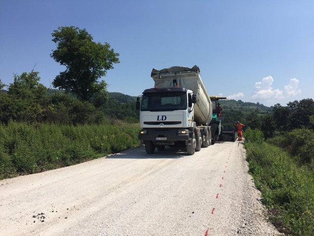 Izgradnja puta, foto: N.R.