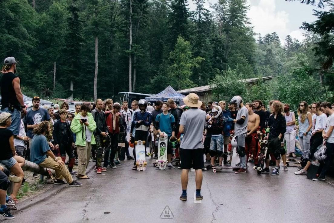 KnK Longboard Camp 2018 - Single Set Survivor Race